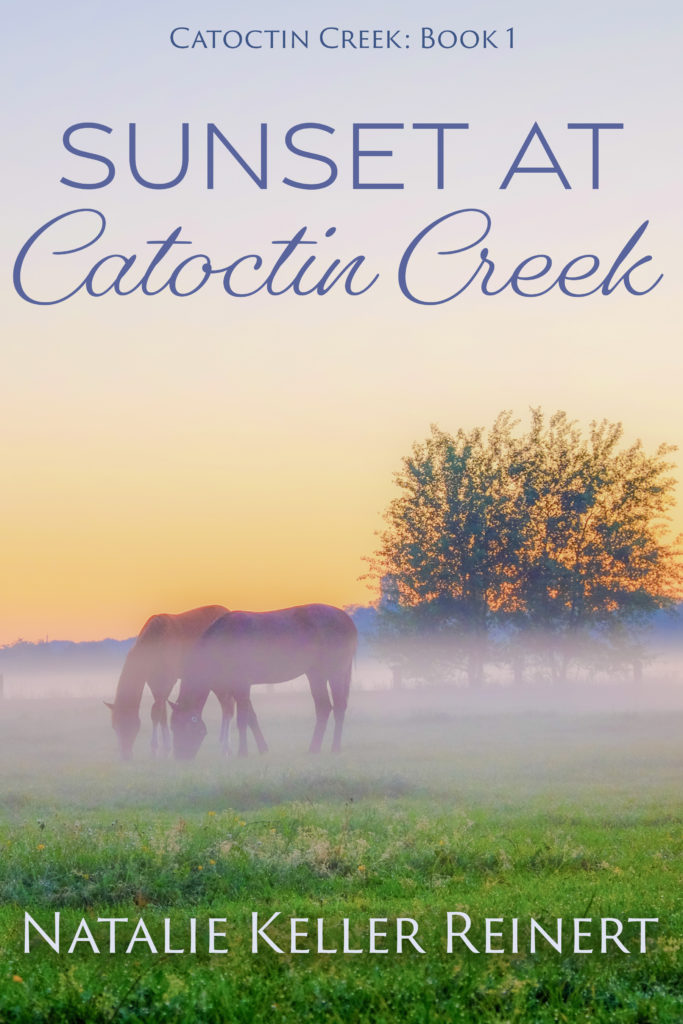 Sunset at Catoctin Creek