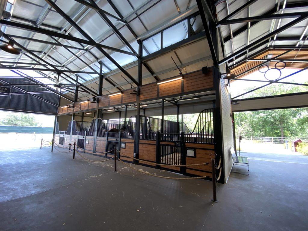 Tri Circle D Ranch Show Barn - Visitor Area
